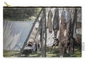 The Fur Trader's Camp 1812 Carry-all Pouch
