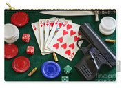 The Gambler Carry-all Pouch by Paul Ward