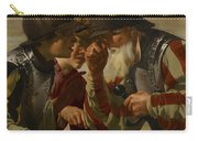 The Gamblers Carry-all Pouch by Hendrick Ter Brugghen