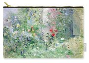 The Garden At Bougival Carry-all Pouch by Berthe Morisot