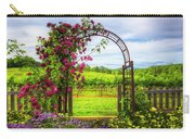 The Garden At The Winery Carry-all Pouch