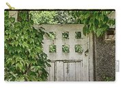 The Garden Door - V Carry-all Pouch