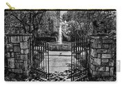 The Garden Gate Carry-all Pouch