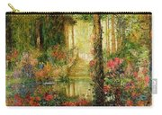 The Garden Of Enchantment Carry-all Pouch by Thomas Edwin Mostyn