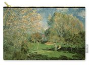 The Garden Of Hoschede Family Carry-all Pouch