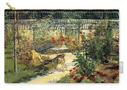 The Garden Of Manet Carry-all Pouch