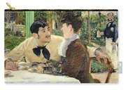 The Garden Of Pere Lathuille Carry-all Pouch by Edouard Manet