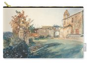 The Garden Of San Miniato Near Florence Carry-all Pouch