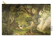 The Garden Of The Magician Klingsor, From The Parzival Cycle, Great Music Room Carry-all Pouch