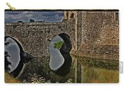 The Gatehouse And Moat At Leeds Castle Carry-all Pouch