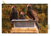 The Gathering Of Vultures Carry-all Pouch