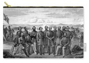 The Generals Of The Confederate Army Carry-all Pouch by War Is Hell Store