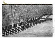 The Geometry Of Spring - Paint Bw Carry-all Pouch