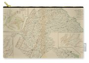 The Gettysburg Campaign - American Civil War Carry-all Pouch