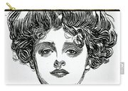 The Gibson Girl Carry-all Pouch
