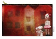 The Girl With Teddy Bear Carry-all Pouch