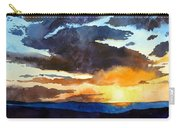 The Glory Of The Sunset Carry-all Pouch