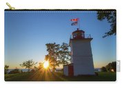 The Goderich Lighthouse At Sunset Carry-all Pouch