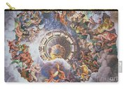 The Gods Of Olympus Carry-all Pouch by Giulio Romano
