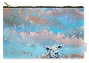 The Golden Flock - Colorful Sheep Art Carry-all Pouch
