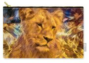 The Golden Lioness  Carry-all Pouch