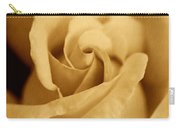 The Golden Vintage Rose Carry-all Pouch