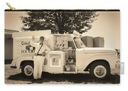 The Good Humor Man In Sepia Carry-all Pouch