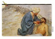 The Good Samaritan Carry-all Pouch by William Henry Margetson