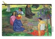 The Gossipers Carry-all Pouch by Paul Gauguin