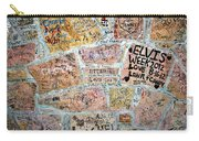 The Graceland Graffiti Wall Carry-all Pouch