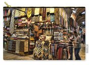 The Grand Bazaar In Istanbul Turkey Carry-all Pouch by David Smith
