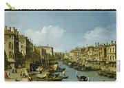The Grand Canal Near The Rialto Bridge. Venice Carry-all Pouch