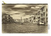 The Grand Canal - Paint Sepia Carry-all Pouch