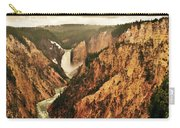 The Grand Canyon Of The Yellowstone Carry-all Pouch