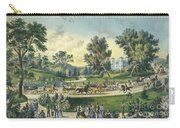 The Grand Drive, Central Park, New York, 1869 Carry-all Pouch
