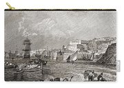 The Grand Harbour, Valetta, Malta After Carry-all Pouch