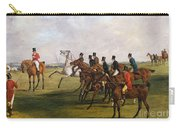 The Grand Leicestershire Steeplechase, March 12, 1829  The Start Carry-all Pouch