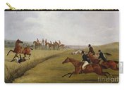 The Grand Leicestershire Steeplechase, March 12th, 1829 Carry-all Pouch