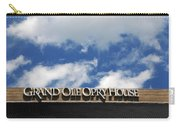 The Grand Ole Opry Nashville Tn Carry-all Pouch by Susanne Van Hulst
