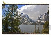 The Grand Tetons And The Lake Carry-all Pouch