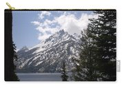The Grand Tetons Lake Carry-all Pouch