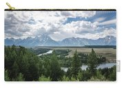 The Grand Tetons Carry-all Pouch by Margaret Pitcher