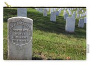 The Grave Of Martha B. Ellingsen In Arlington's Nurses Section Carry-all Pouch