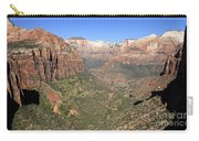 The Great Canyon Of Zion Carry-all Pouch