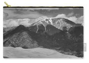 The Great Colorado Sand Dunes  125 Black And White Carry-all Pouch