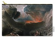 The Great Day Of His Wrath Carry-all Pouch by Charles Mottram
