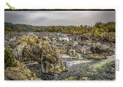 The Great Falls Of The Potomac Carry-all Pouch