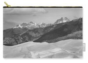 The Great Sand Dunes Bw Print 45 Carry-all Pouch by James BO  Insogna