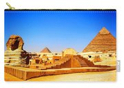 The Great Sphinx Of Giza Carry-all Pouch