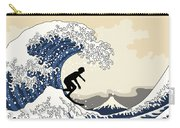 The Great Surfer Off Kanagawa Carry-all Pouch